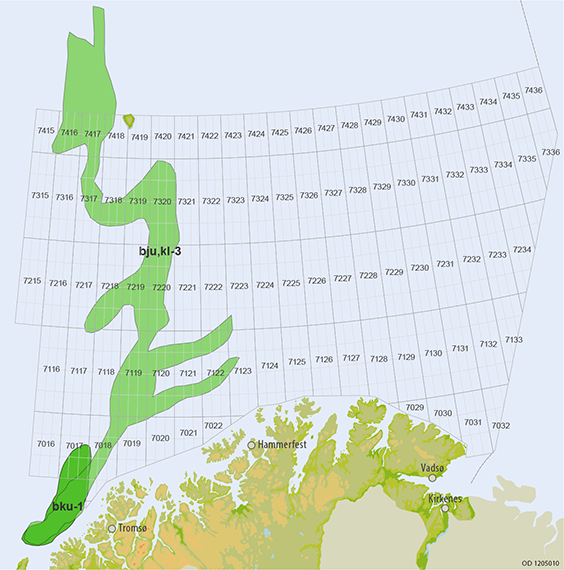 Barents Sea - Upper Jurassic to Lower Cretaceous plays