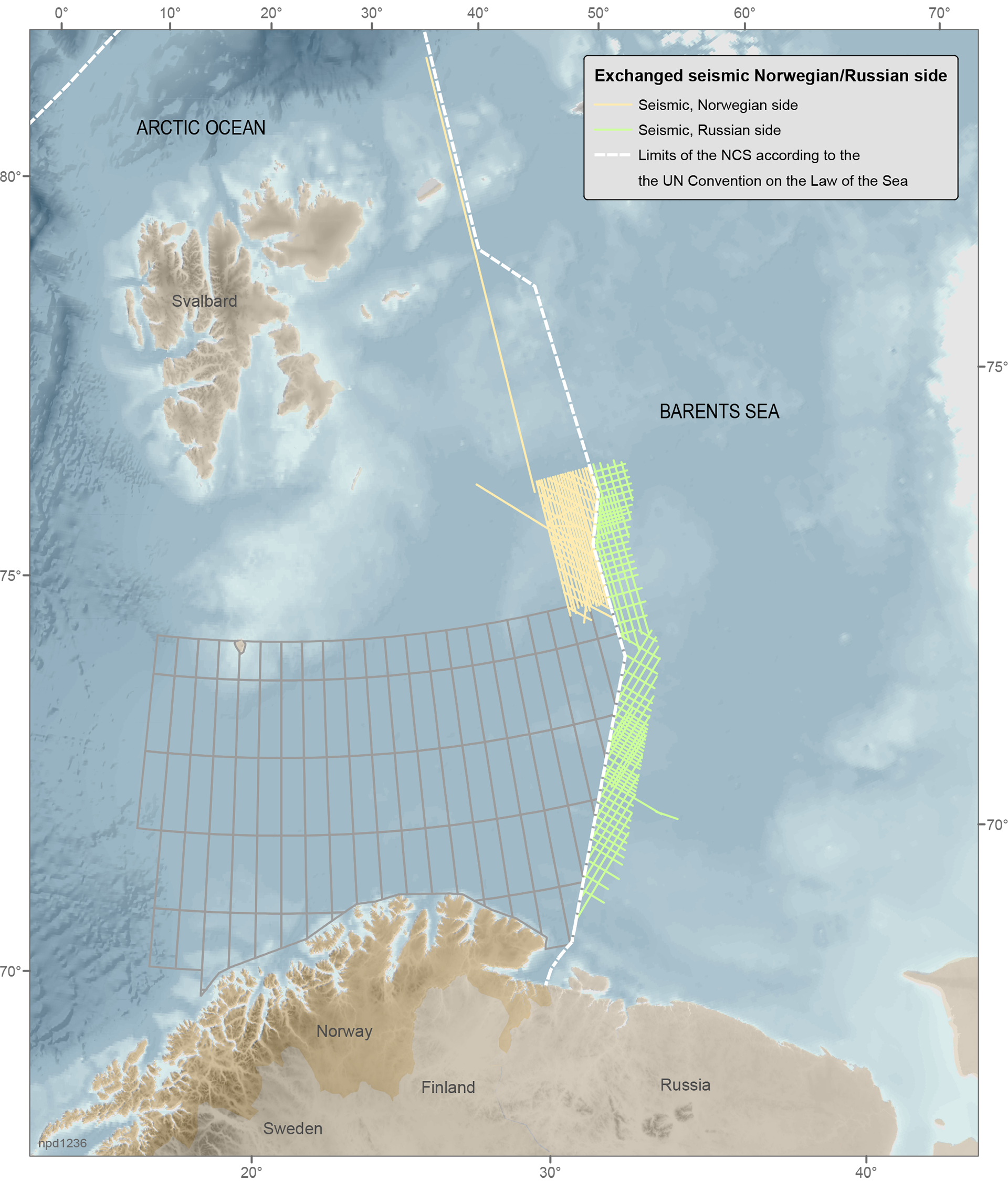 Russia and Norway to exchange seismic data from the Barents Sea